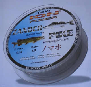 ION POWER ZANDER -PIKE 0,21 mm 180 m