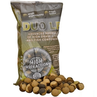 Starbaits Boilie potápavé DUO LF 20mm 1kg